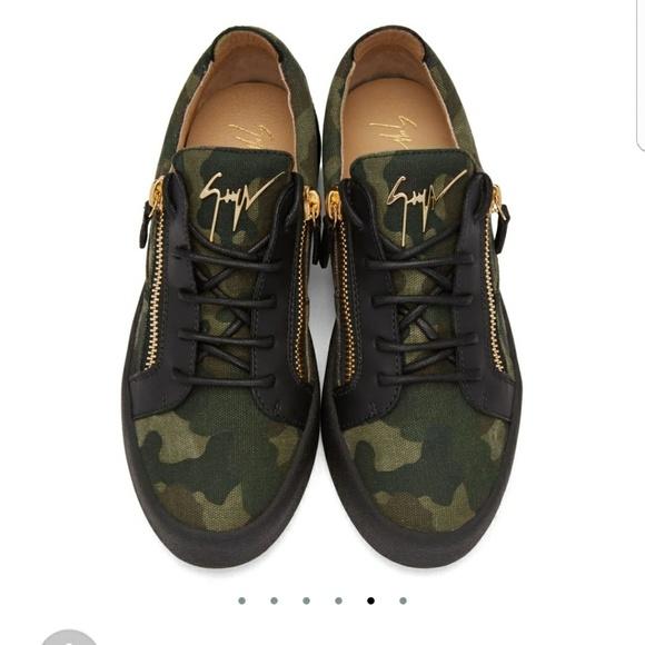 870836be963f9 Giuseppe Zanotti Shoes | Low London Camo Sneakers | Poshmark